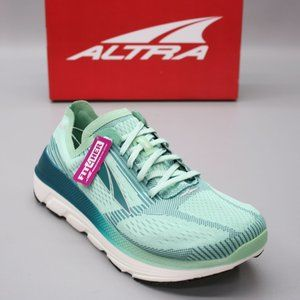 Altra Ladies 10 Duo 1.5 Green Cross Training Running Stretch Knit Sneakers  A pa